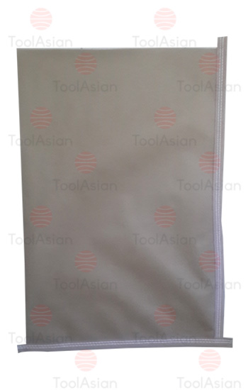 L type - BOPP printed fish feed Bags