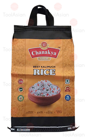 chanakya rice, Polypropyle Woven Bags