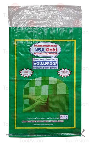 NSA Gold - BOPP Laminated PP Woven Bags