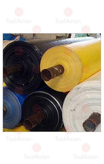 coloured laminated fabric tarp roll price
