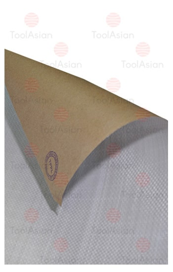 paper laminated woven fabric