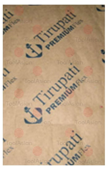 Paper Laminated Woven Printed Fabric