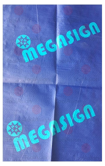 printed wrapping fabric for pvc flex roll