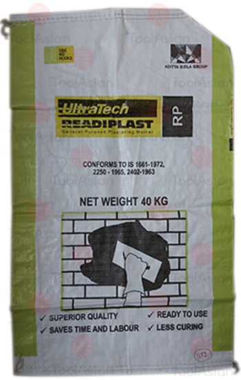 ultratech cement bags, Plastic Film Treated Rolls Bags